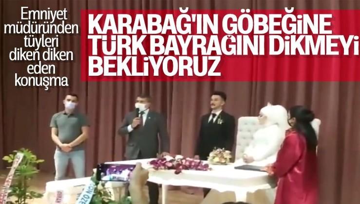 Trabzon Emniyet Müdürü Metin Alper'in efsane Karabağ konuşması