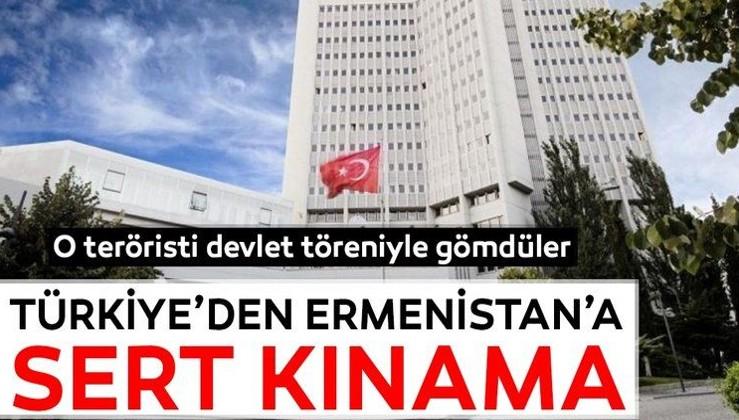 Türkiye'den Ermenistan'a sert kınama