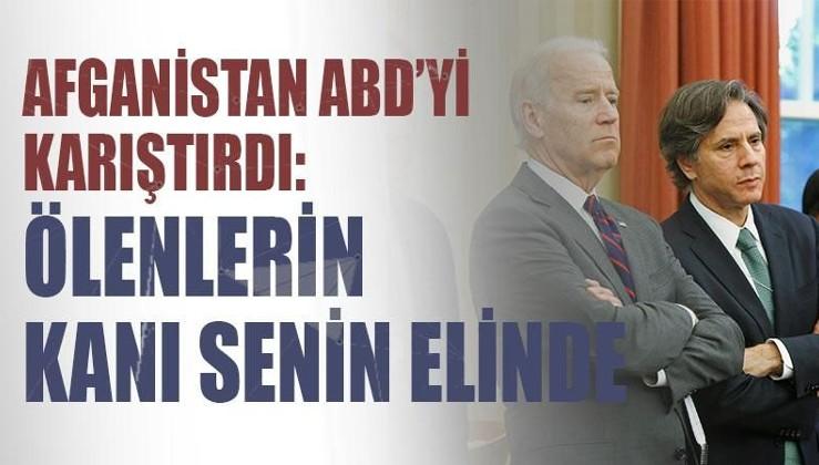 Afganistan ABD'yi karıştırdı: Blinken'a istifa çağrısı