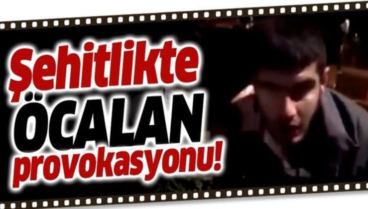 Edirnekapı şehitliğinde Öcalan provokasyonu!.
