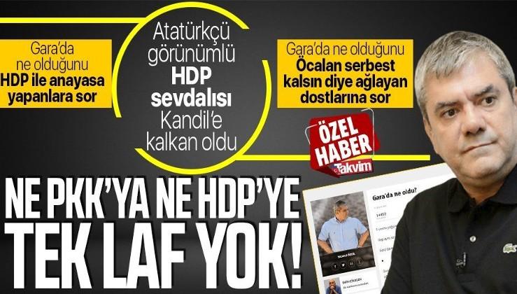 Köşe yazısında Gara şehitleri üzerinden hükümete saldıran Yılmaz Özdil PKK'ya ve ortağı partilere tek kelime etmedi