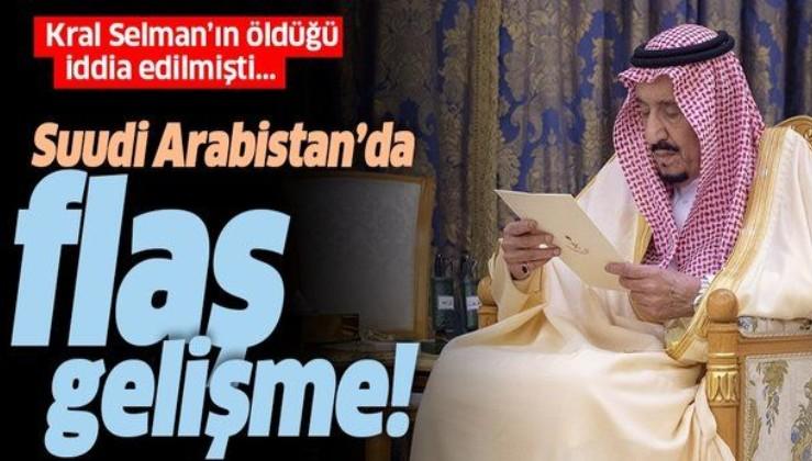 Kralı Selman'ın öldüğü iddia edilmişti! Suudi Arabistan'da flaş gelişme: Görüntüler ortaya çıktı.