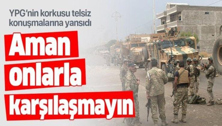 YPG'nin SMO korkusu telsiz konuşmalarına yansıdı.