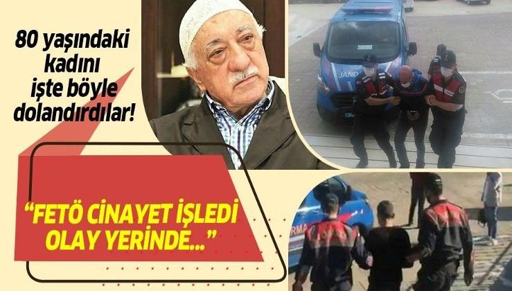 'FETÖ' yalanıyla 80 yaşındaki kadını kandırıp, 60 bin lira değerindeki altınlarını çaldılar!