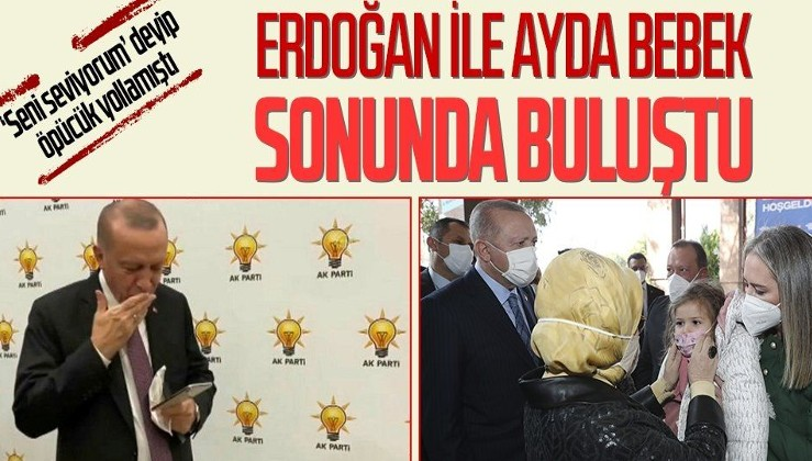Erdoğan'dan İzmir depreminde 91 saat sonra kurtarılan Ayda Bebek'e ziyaret