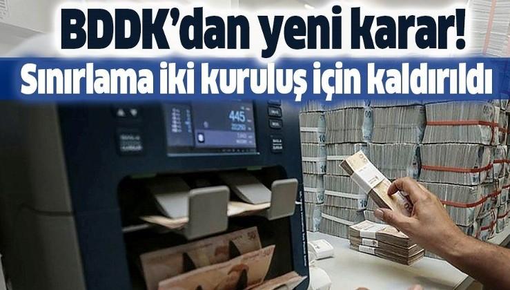 Son dakika: BDDK'dan flaş karar! TL işlem sınırlaması Euroclear Bank ve Clearstream Banking için kaldırıldı
