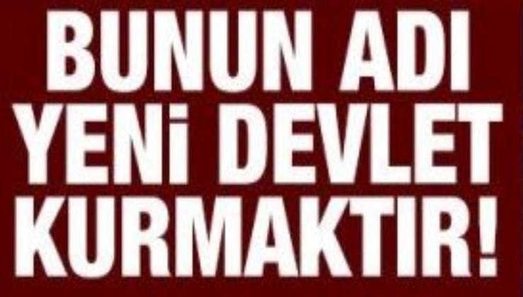Sözcü, Türkiye Cumhuriyeti'ni parçaladı: 'Merkezi hükümet' kavramı haber metinlerine de girdi