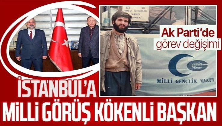 AK Parti İstanbul İl Başkanlığı'nda görev değişimi! İlk kare geldi | Osman Nuri Kabaktepe kimdir?