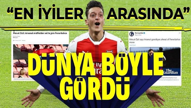 Dünya basını Mesut Özil'in Fenerbahçe'ye transferini böyle yorumladı