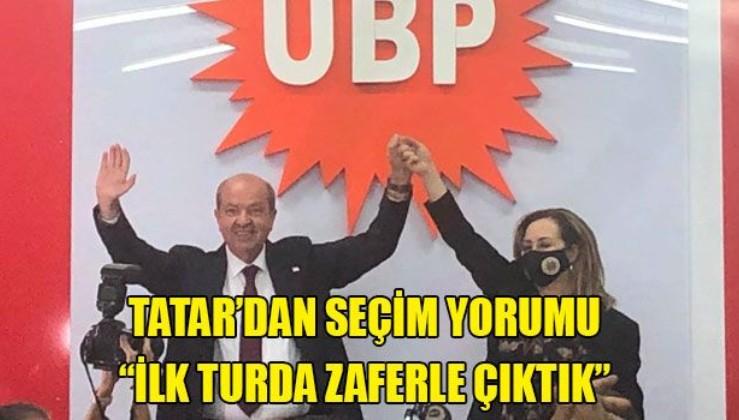 Seçim sonrası KKTC Başbakanı Ersin Tatar'dan ilk yorum: Zafer bizimdir