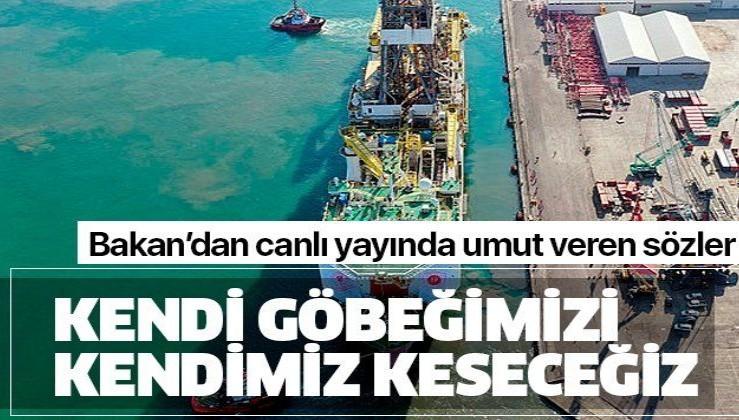 Bakan müjdeyi verdi! Fatih sondaj gemisi ile ilk petrol operasyonu...