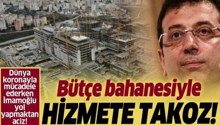 """Ekrem İmamoğlu'ndan skandal açıklama: """"Başakşehir Şehir Hastanesi'nin bağlantı yollarını yapmayacağız""""."""