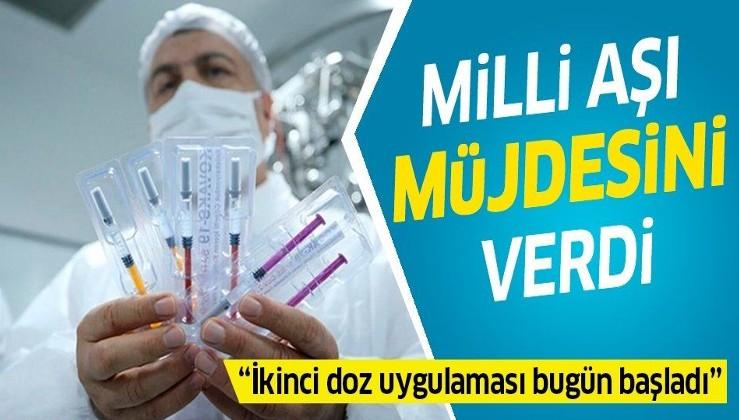 Son dakika: Sağlık Bakanı Fahrettin Koca: Milli aşıdan umutluyuz