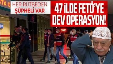 İzmir merkezli 47 ilde FETÖ'ye operasyon: 130 şüpheli gözaltına alındı