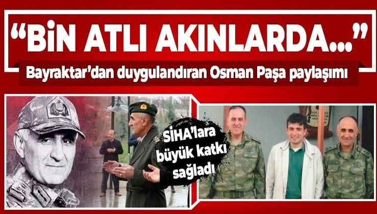 Selçuk Bayraktar, şehit Korgeneral Osman Erbaş'ı anlattı: Milli SİHA sistemlerinin gelişimine büyük katkı sağladı