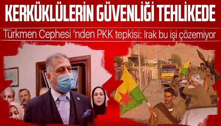 Türkmen Cephesi'nden PKK terör örgütü açıklaması: Kerküklülerin güvenliği tehlike altında