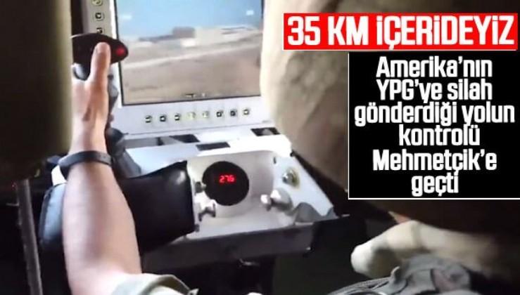 Barış Pınarı Harekatı'nda 35 km derinliğe inildi