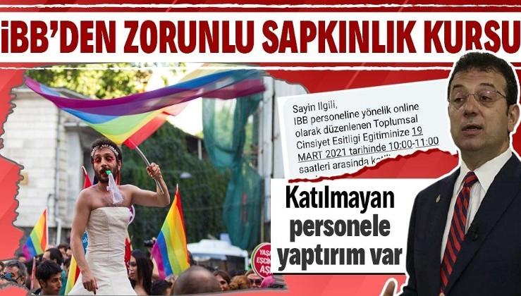 İBB'den belediye personeline zorunlu LGBT eğitimi! Katılmayanlara idari yaptırım tehdidi var
