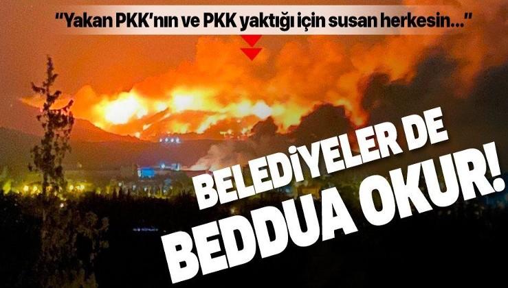 """O belediyeden Hatay'a fidan desteği! """"Yakan PKK'nın ve PKK yaktığı için susan herkesin Allah belasını versin"""""""