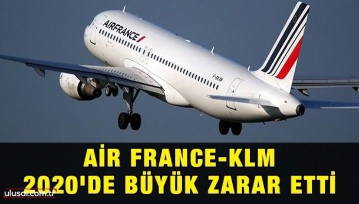 Air France-KLM 2020'de büyük zarar etti