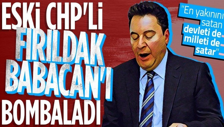 CHP eski Genel Sekreteri Mehmet Sevigen'den Ali Babacan'a sert sözler: En yakınını satan devleti de milleti de satar