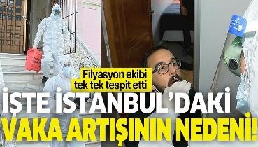 İşte İstanbul'da koronavirüs vakalarının artış nedeni! Filyasyon ekipleri yapılan hataları tek tek tespit etti!