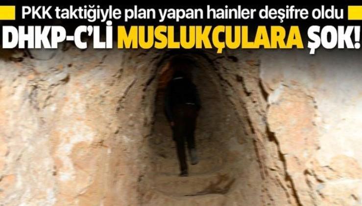 Terör örgütü DHKP-C'nin kirli planını yürüten 'muslukçular' deşifre oldu