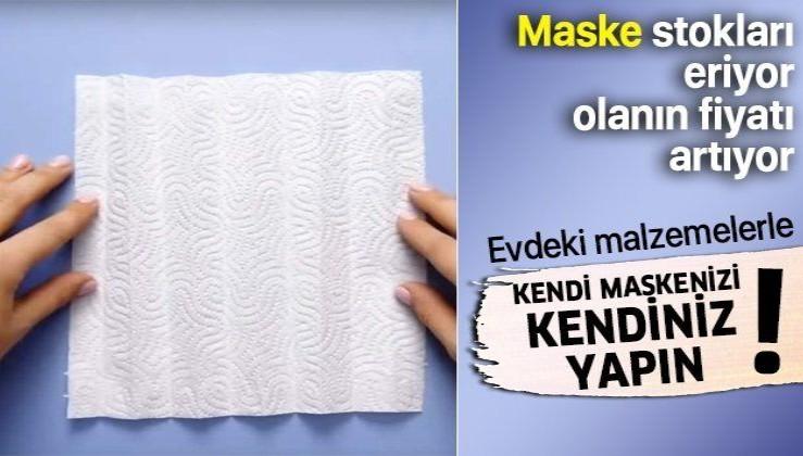 Evde maske nasıl yapılır? İşte Youtube'da milyonlar izlenen adım adım pratik maske yapımı