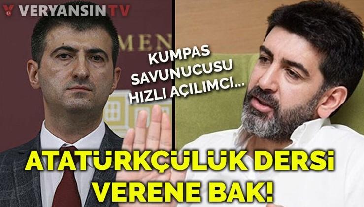 Kumpas savunucu Levent Gültekin Atatürkçülük dersi vermeye kalktı!