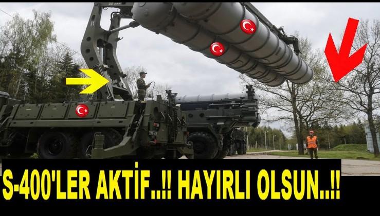 S-400'LER AKTİF EDİLDİ..!! Amerikancılarda büyük panik!