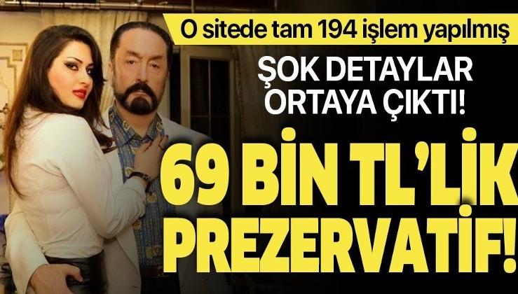 Son dakika... Adnan Oktar davasında şoke eden detaylar! 69 bin TL'lik prezervatif...