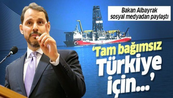 Hazine ve Maliye Bakanı Berat Albayrak hedefini açıkladı: TAM BAĞIMSIZ TÜRKİYE!