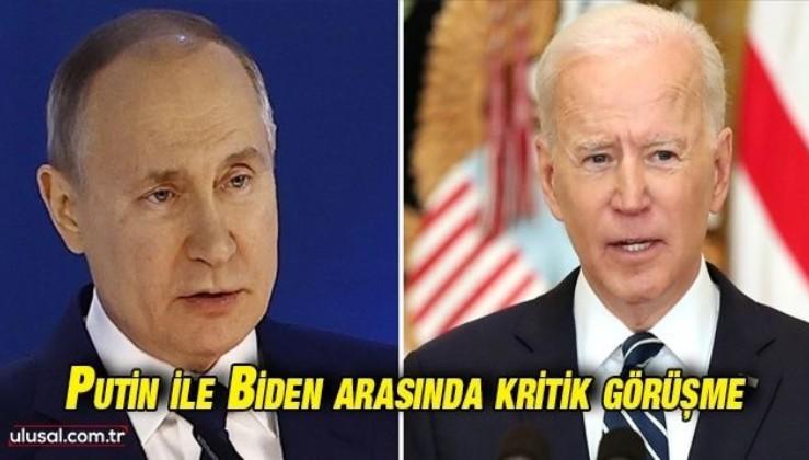 Putin ile Biden yarın görüşecek: Masada Rusya-ABD ilişkileri var