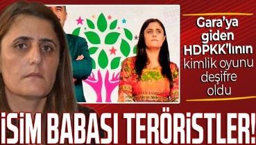 SON DAKİKA: Gara'ya giden HDP'li Dilan Taşdemir'in ismi sahte çıktı! Adını teröristler verdi: Gerçek ismi Dirayet