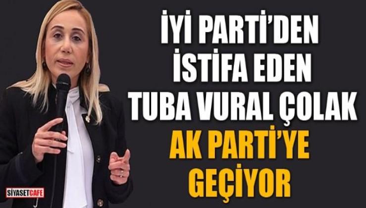 Son dakika: İYİ Parti'den istifa eden Tuba Vural Çokal ile 5 belediye başkanı AK Parti'ye geçti