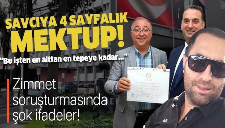 Yalova Belediyesi'ndeki zimmet soruşturmasında flaş ifadeler! Savcıya 4 sayfalık mektup!.