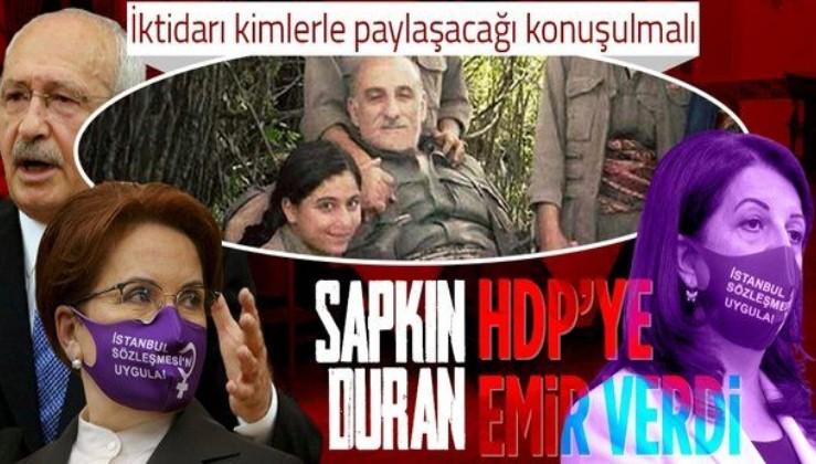 PKK elebaşı Duran Kalkan'dan HDP'ye emir: Türkiye'yi yönetmeli ve iktidarı kimlerle paylaşacağı konuşulmalı