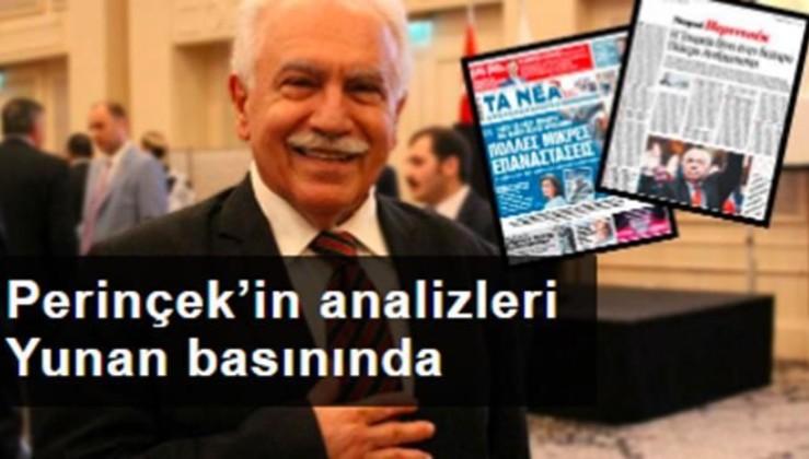 Doğu Perinçek'in analizleri Yunanistan'ın en büyük gazetesinde gündem