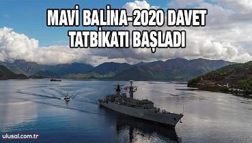 Mavi Balina-2020 Davet Tatbikatı başladı