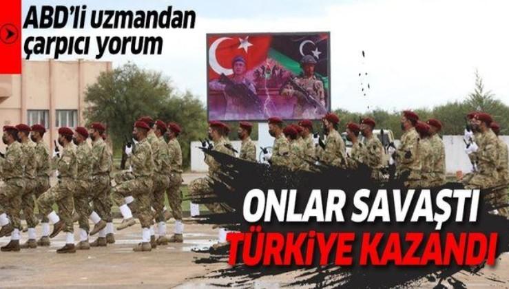 ABD'li uzmandan çarpıcı yorum! Yabancılar savaştı ama savaşı Türkler kazandı