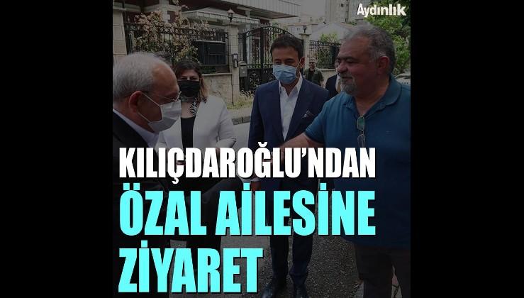 Davutoğlu'ndan sonra Kılıçdaroğlu da Semra Özal'ı ziyaret etti