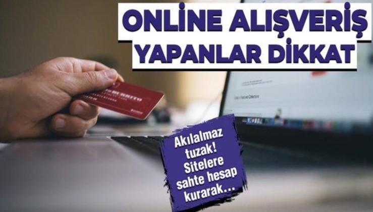Dolandırıcıların yeni yöntemi! Yılbaşı için online alışveriş yapanlar dikkat! Kredi kartı bilgileriniz ele geçirilebilir!