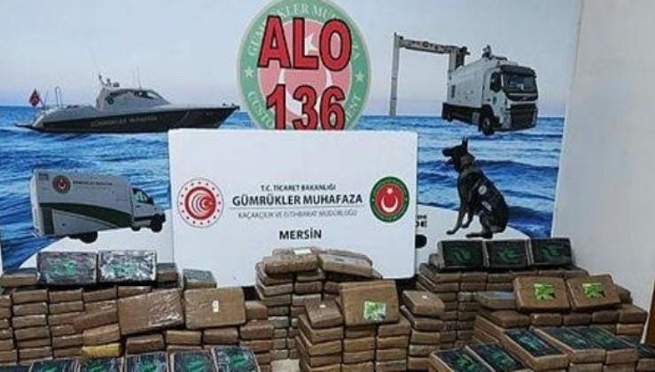 Zehir tacirlerine ağır darbe: Mersin Limanı'nda 463 kilogram kokain ele geçirildi