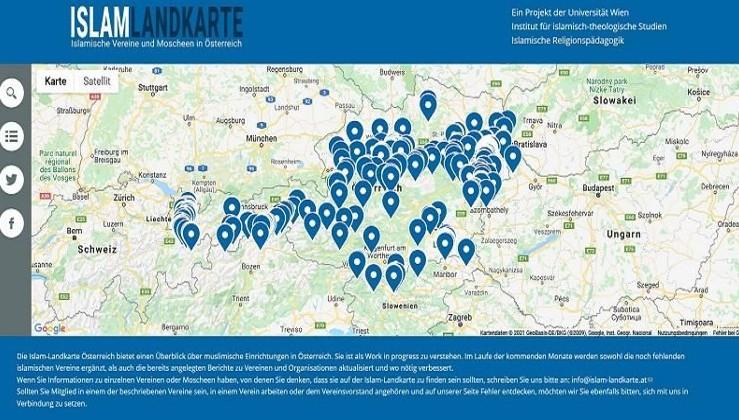Avusturya Müslümanları adres adres fişledi