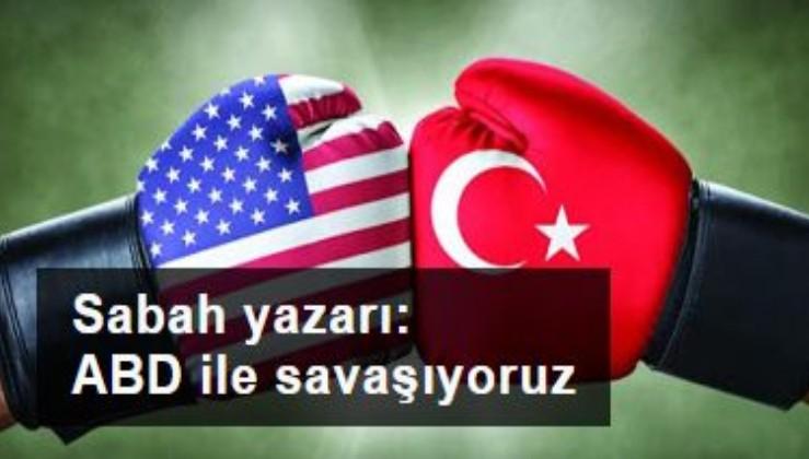 Hilal Kaplan: Amerika ile savaşıyoruz