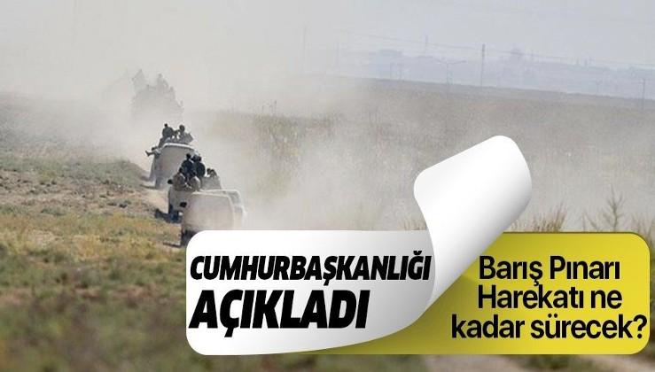 Son dakika: Cumhurbaşkanı Yardımcısı Oktay'dan Barış Pınarı Harekatı açıklaması.