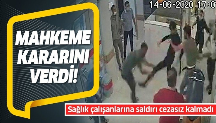 Sağlık çalışanlarını darp edenler tutuklandı