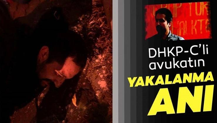 Yurt dışına kaçarken yakalanan DHKP-C'li Aytaç Ünsal tutuklandı! İşte yakalanma anı...