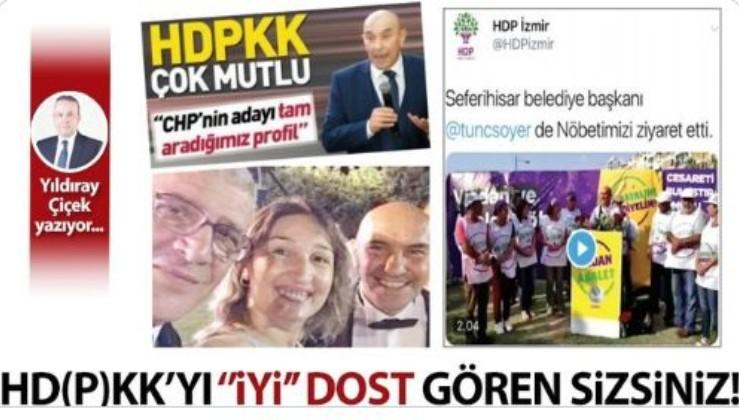 """HD(P)KK'yı """"İYİ"""" dost gören sizsiniz!"""