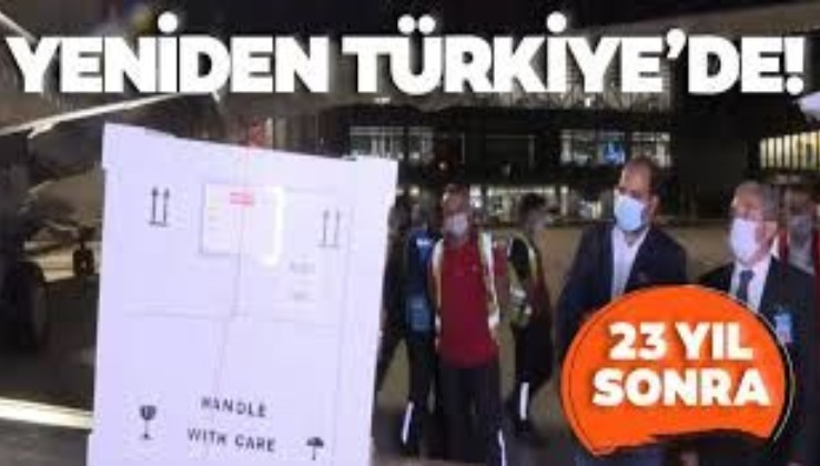 23 yıl önce kaçırılan Lidya dönemine ait yazıt yeniden Türkiye'de